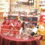 ワイングラスコーナー